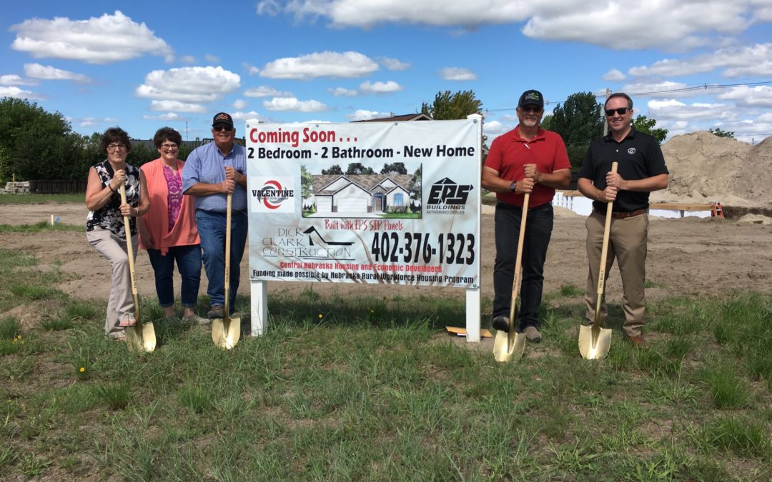 Ground Breaking on New Housing Venture