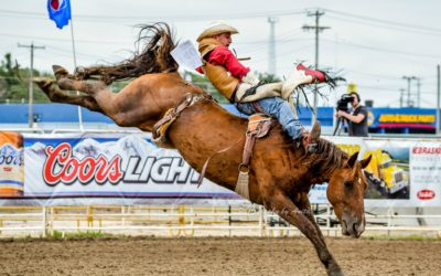 Garrett Shadbolt Wins Bareback Rookie of the Year