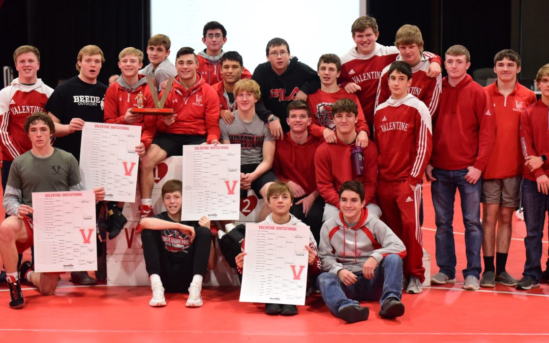 Badgers Win Valentine Invite Wrestling Tournament With 5 Champions