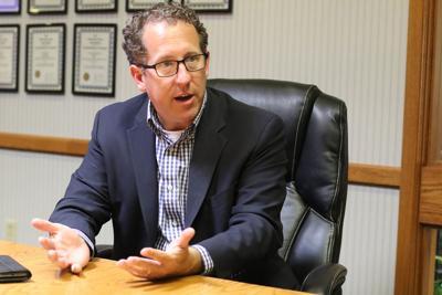 Congressman Smith in Mullen August 3rd
