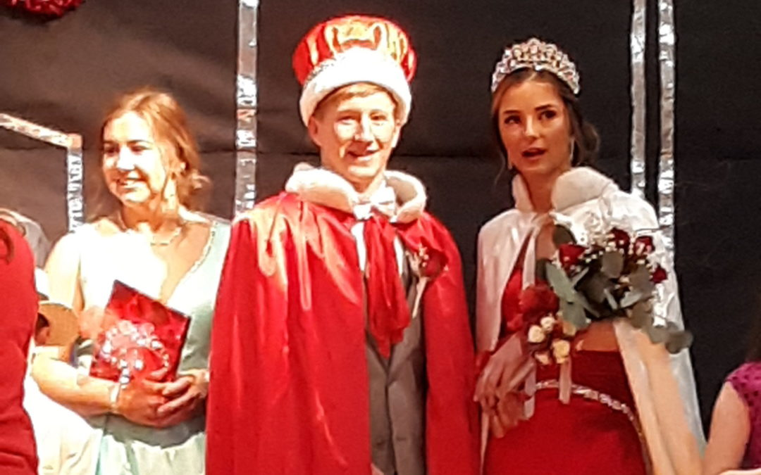 Cox and McGinley Crowned Queen and King of Hearts at 76th annual Coronation