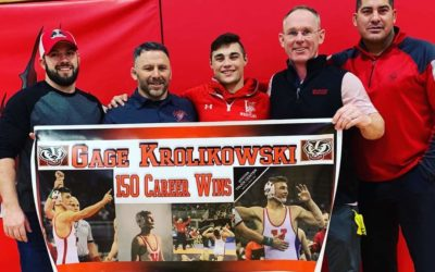 "Badgers Get The ""W"" At Final Home Wrestling Dual"