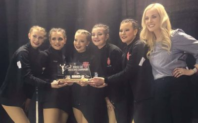 Valentine Dance Team Takes 2nd