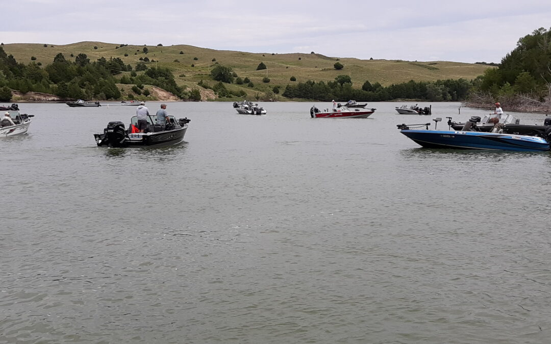 North Platte Men Win Walleye Tournament at Merritt Reservoir