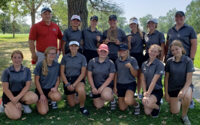 Lady Badgers Place 1st at Ainsworth Invite