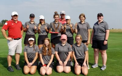 Valentine Girls Golf Place 1st