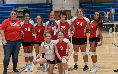 Reserve Volleyball Places 2nd
