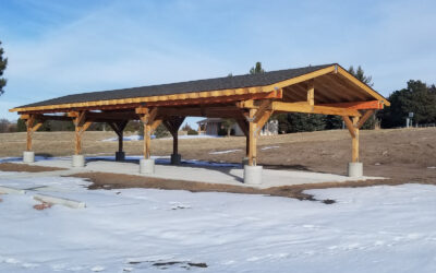 New Shelter at Merritt Reservoir