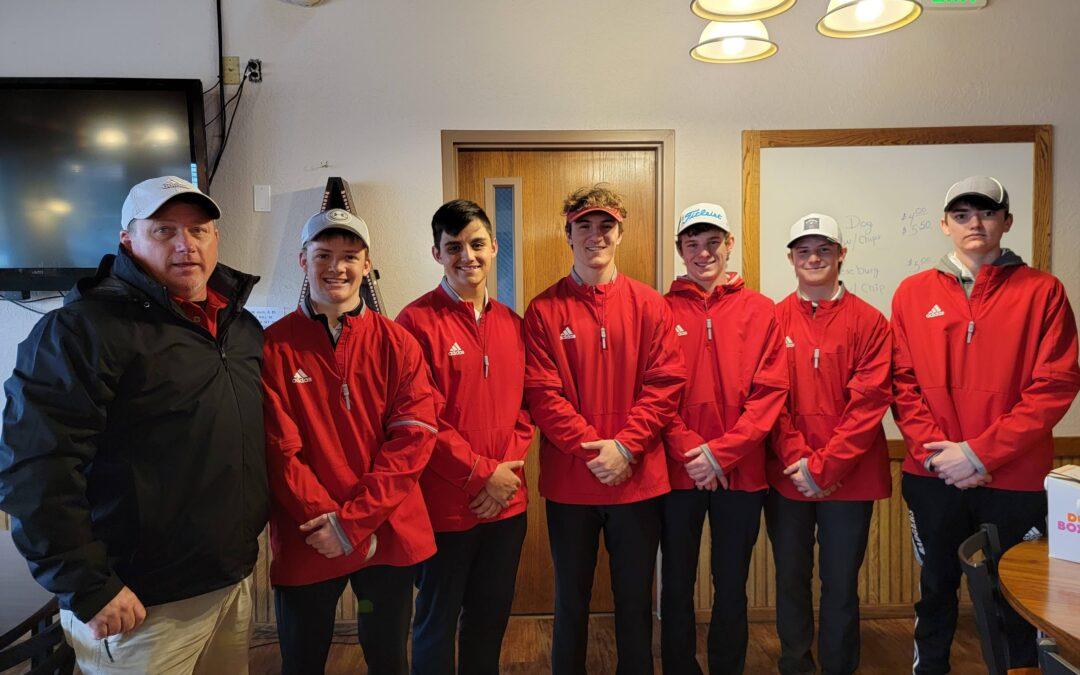 Valentine Badger Golf Results