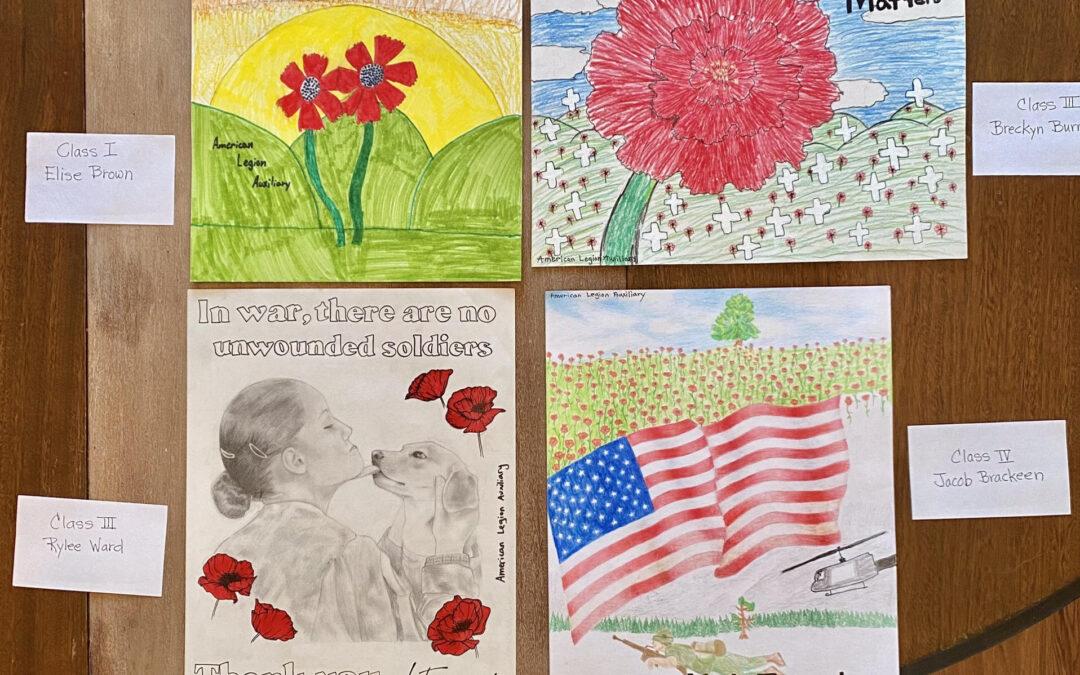 Poppy Poster Contest Winners