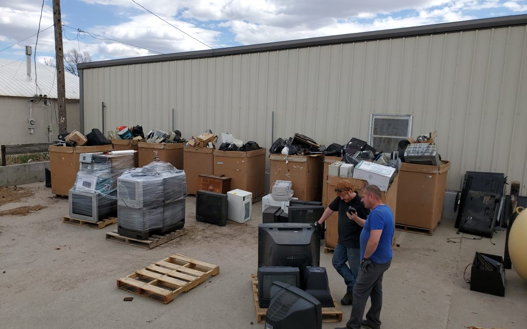 Successful Electronic Recycling Effort Hosted By North Central RC&D In Valentine