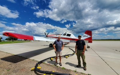 Fire Fighting Aircraft at Miller Field