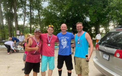 Local Valentine Athletes Compete in 63-mile River Race
