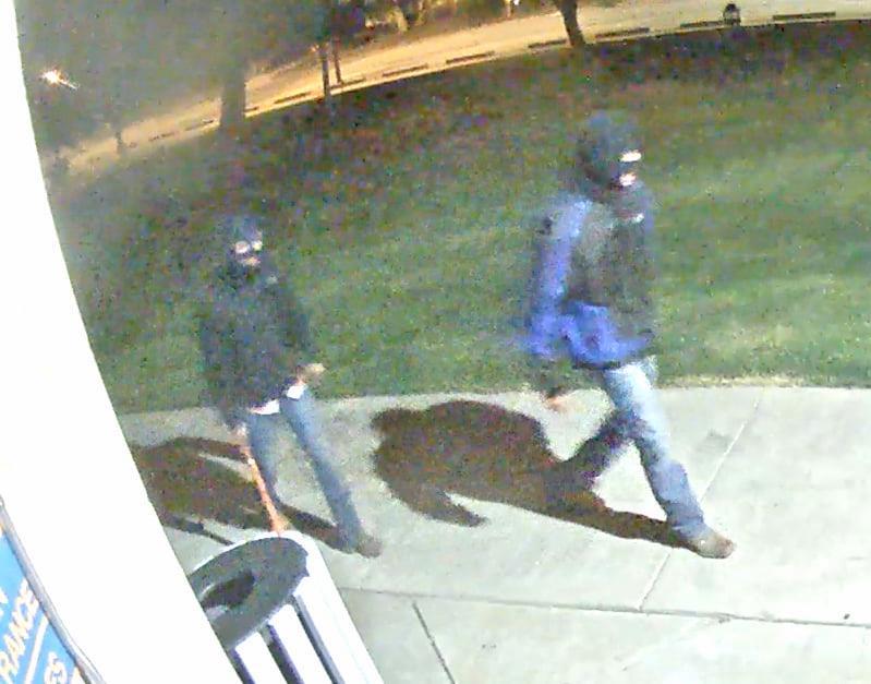 Vandalism Suspects Being Sought in Gordon