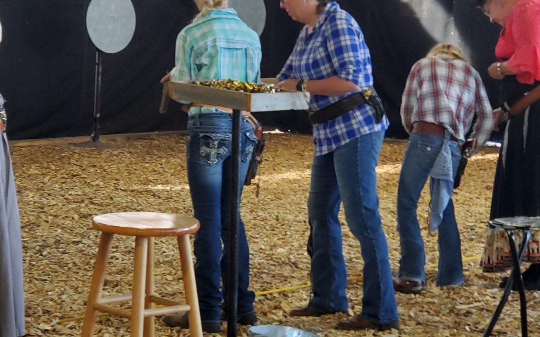 10th Anniversary Cowboy Fast Draw Event in Valentine