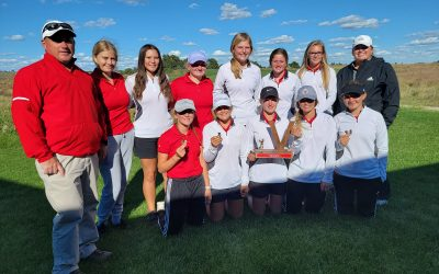 Lady Badger Golf Wins Own Invite