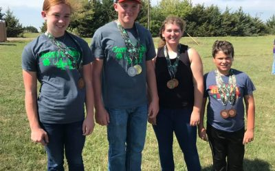 Cherry County 4-H Medals in Shooting Sports